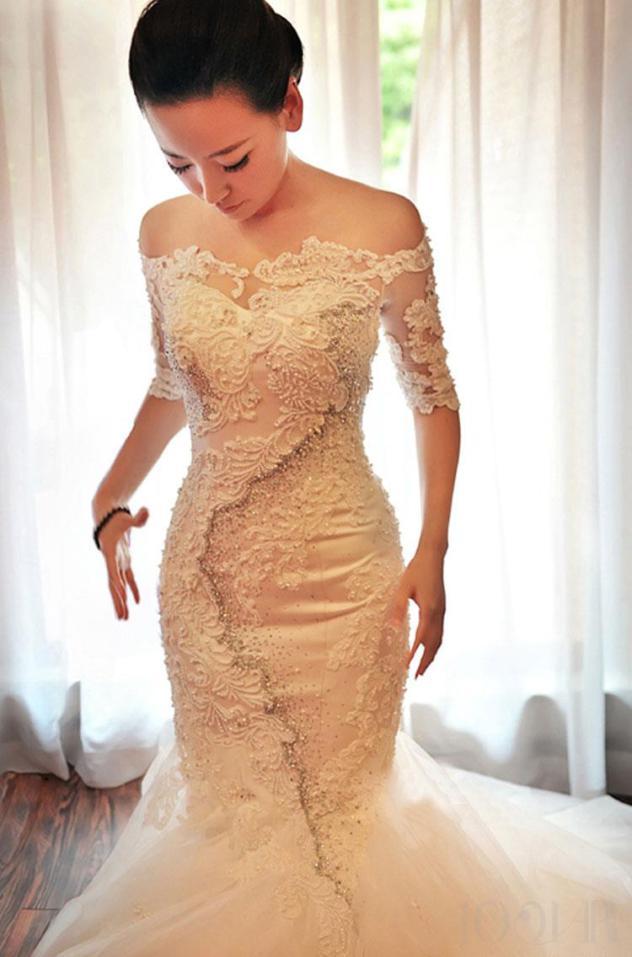 صوره حكم لبس الفستان الابيض يوم الزفاف