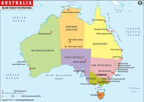صوره صور خريطة استراليا بالعربي