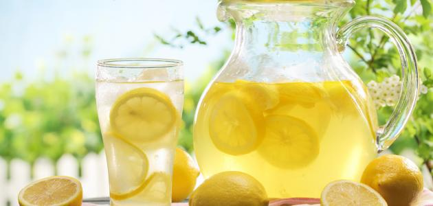 طريقة صنع عصير الليمون