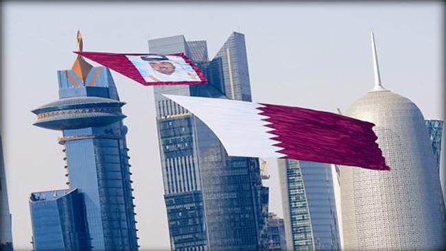 بالصور صور علم دولة قطر 20160626 581