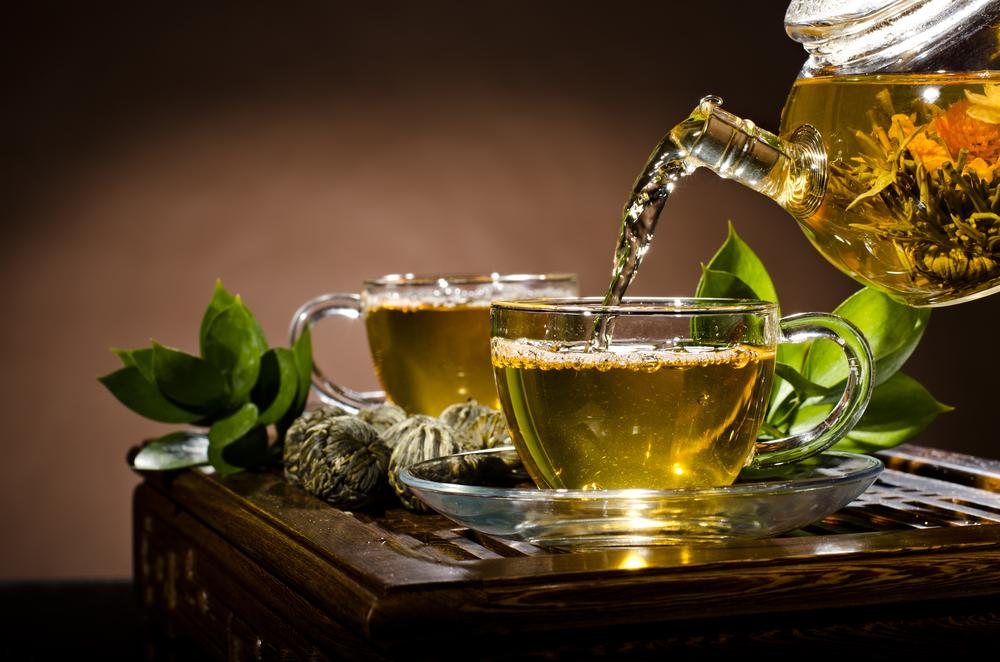 صوره كم سعره حراريه يحرقها الشاي الاخضر