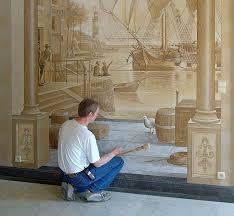 صوره الرسم على الجدران واحدث الديكورات