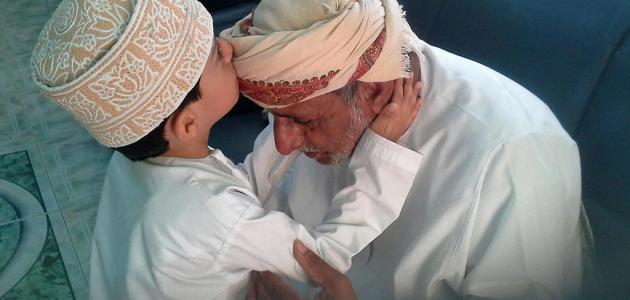 صوره الحمد لله على نعمة الوالدين