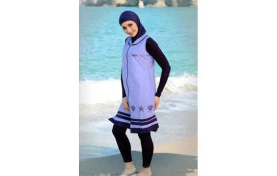 صوره اجمل لباس البحر للمحجبات