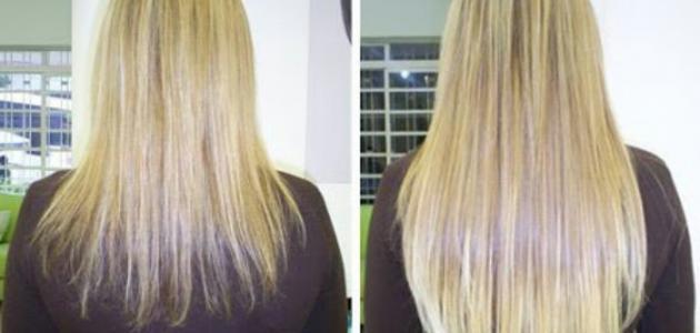 صور تطويل الشعر في يومين