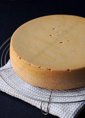 صوره كيف تعمل الكيكة الاسفنجية