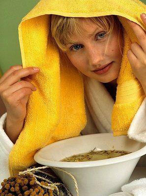 صوره افضل طريقة تنظيف الوجه بالبخار