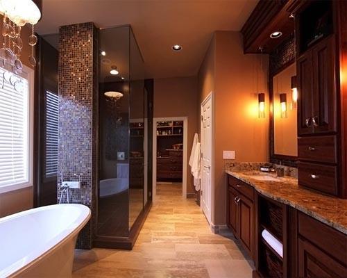 صوره افكار وتصميمات ديكورات حمامات