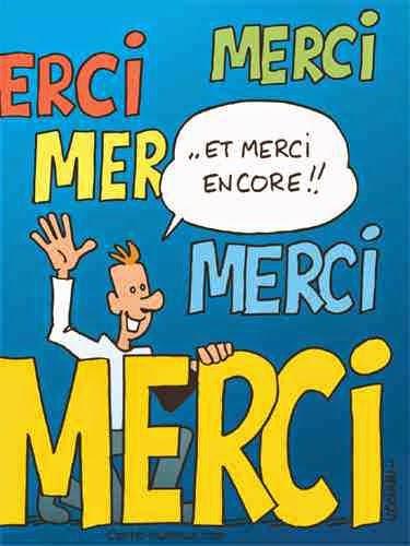 صوره رسالة شكر وتقدير بالفرنسية