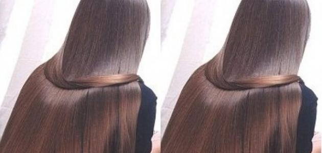 صورة خلطة تجعل الشعر حرير