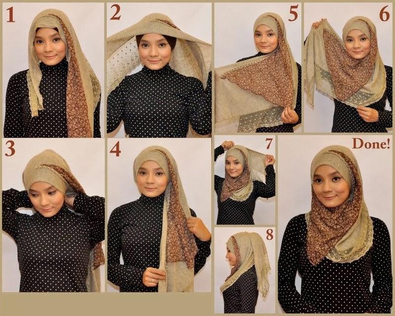 بالصور لفات حجاب عصرية جديده 20160628 325