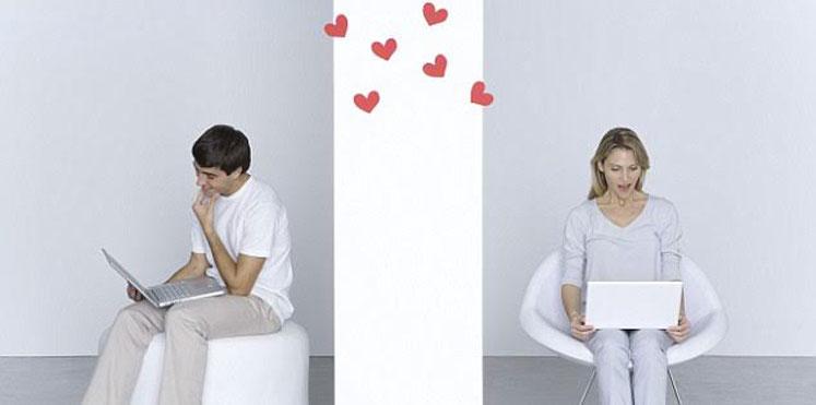 صوره الحب عن طريق الانترنت