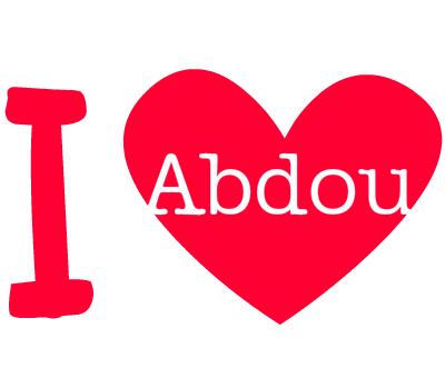 i love abdou 1)