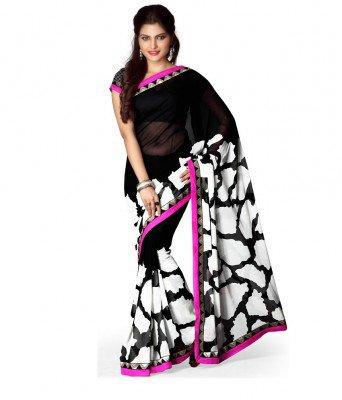 بالصور ملابس هندية ساري بتصميمات عصرية 20160628 955