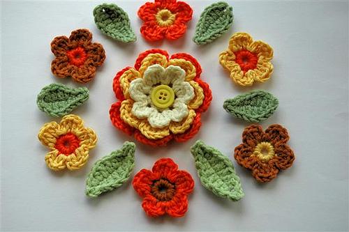 بالصور الورود بالكروشيه بالوان جميله 20160629 1110