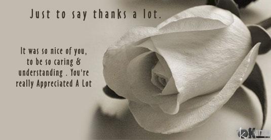 صوره رسائل شكر وتقدير باللغة الانجليزية