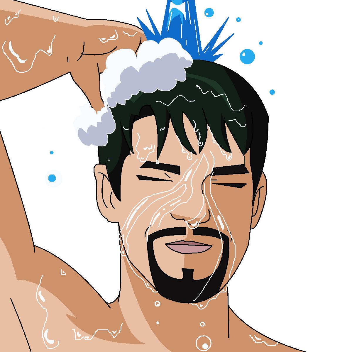 صوره كيفيه غسل الجنابة للرجل
