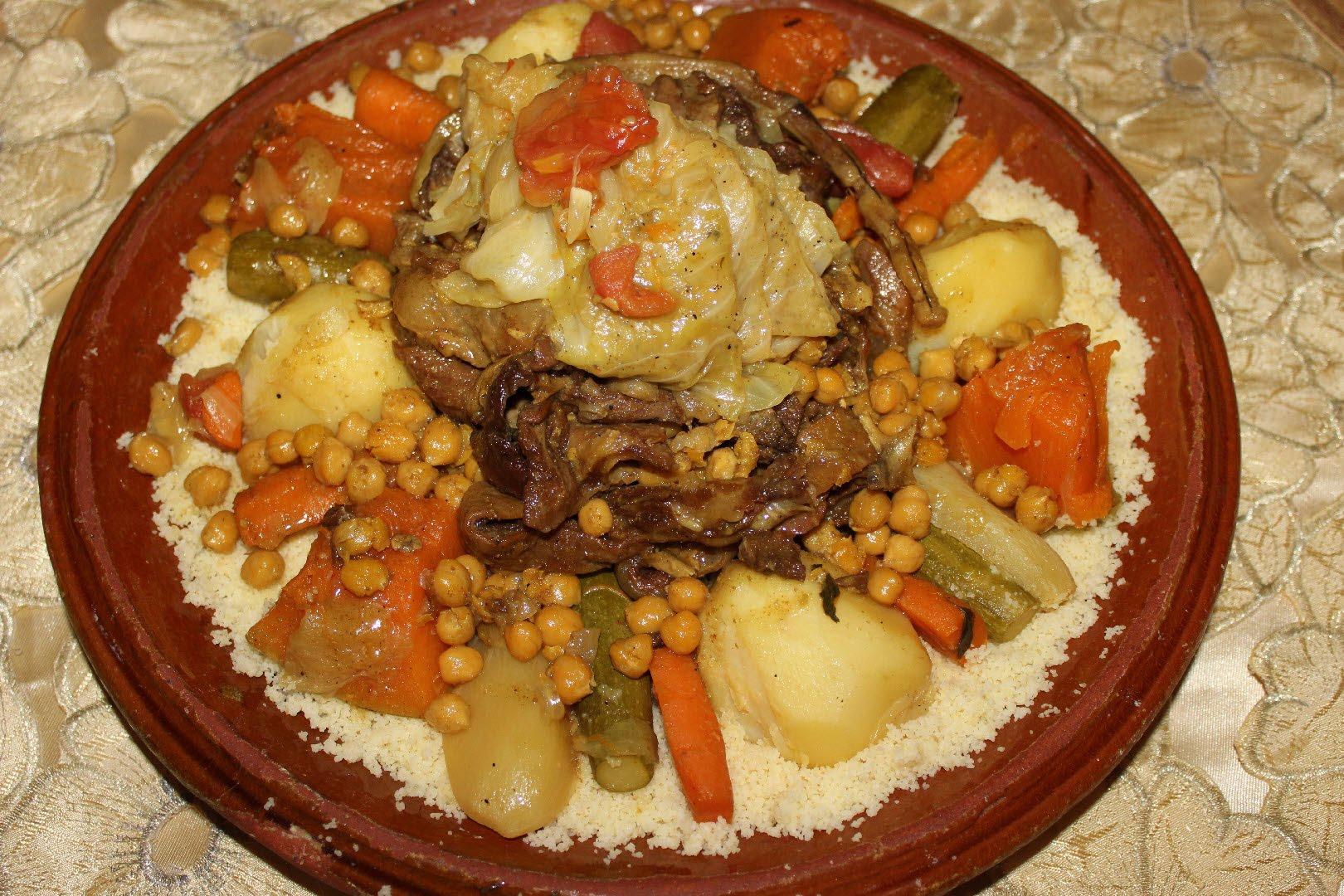 صوره طريقة عمل كسكس مغربي