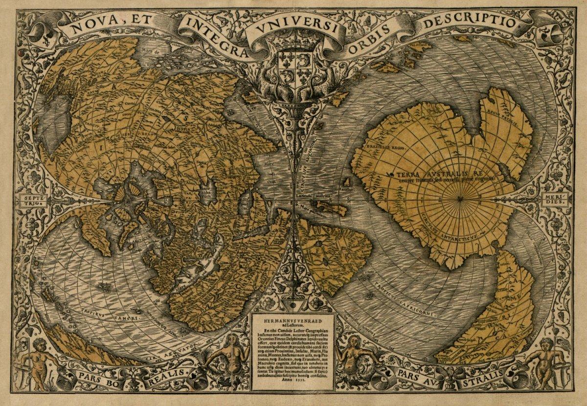 صوره اهم الاكتشافات الجغرافية في العصر الحديث