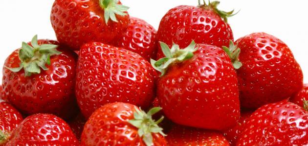 فائدة عصير الفراوله للبشرة