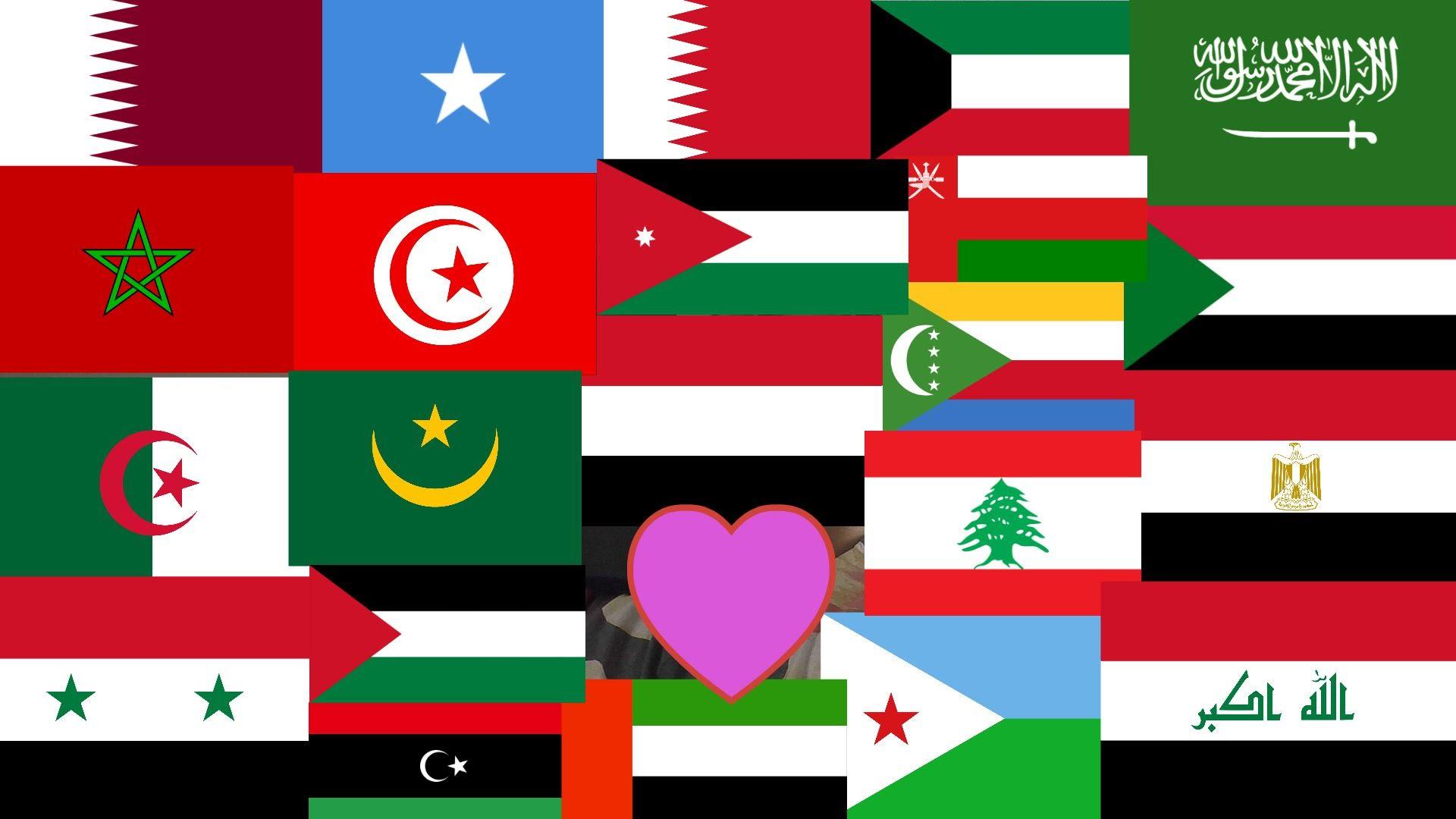 اعلام الدول الاجنبية واسمائها بالعربي