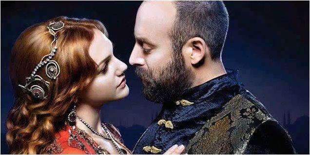 صوره عشق السلطان هيام وسليمان