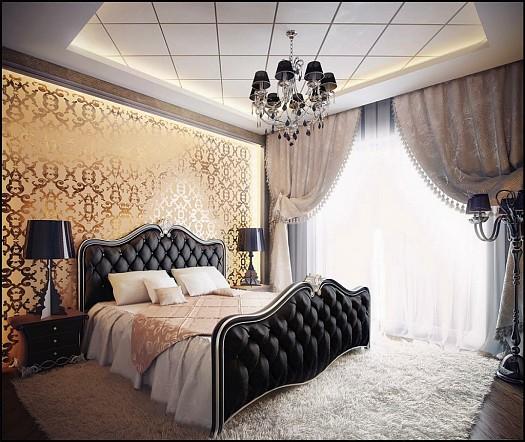 صوره احدث الموديلات لغرف النوم النيو كلاسيك ...