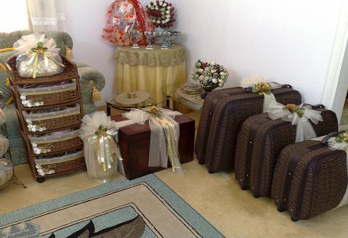 بالصور تزيين شورة العروس الجزائرية