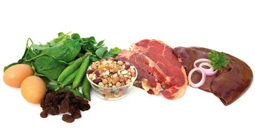 صوره مصادر الحديد في الطعام و فوائده