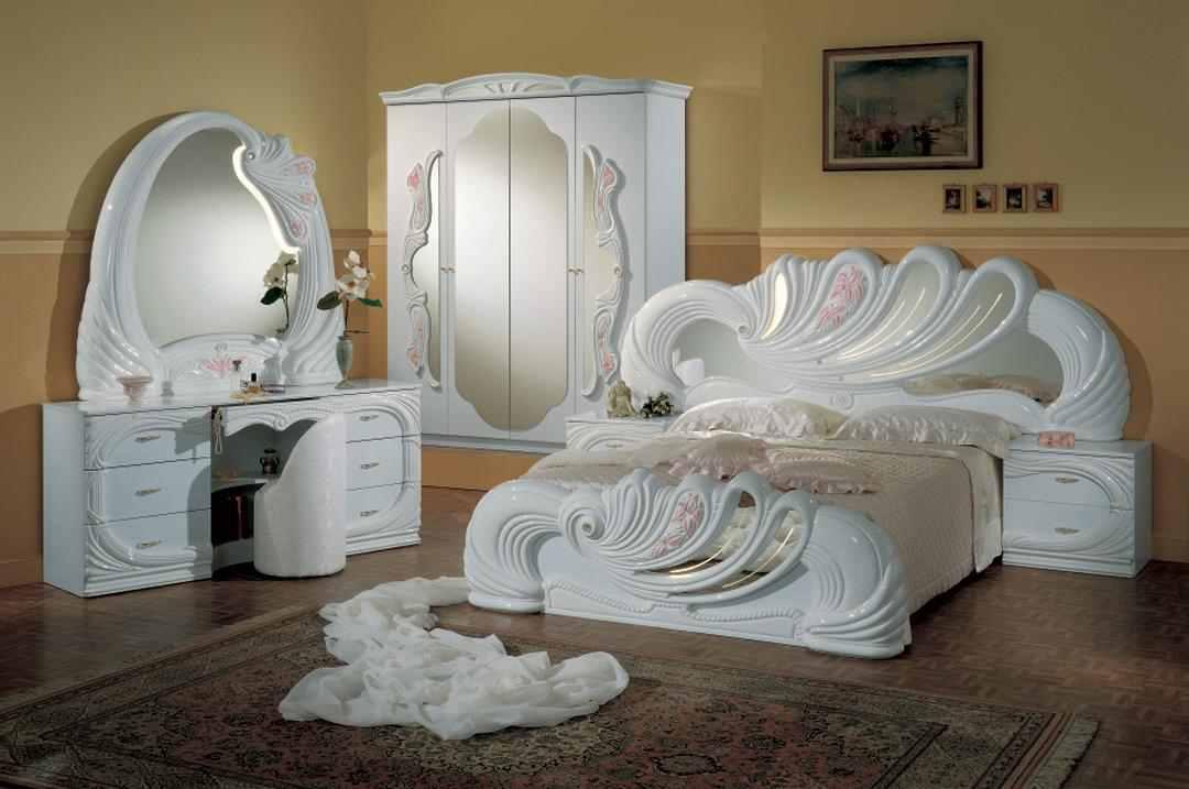صوره غرف نوم باللون الابيض