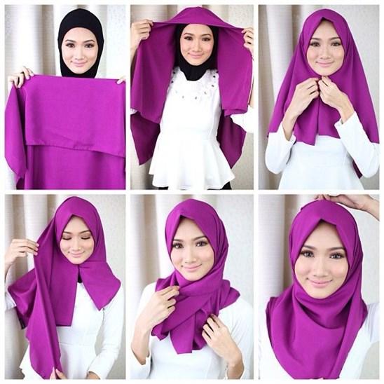 بالصور طرق لبس الحجاب 20160630 322