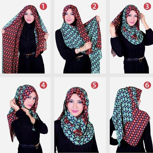 بالصور طرق لبس الحجاب 20160630 323
