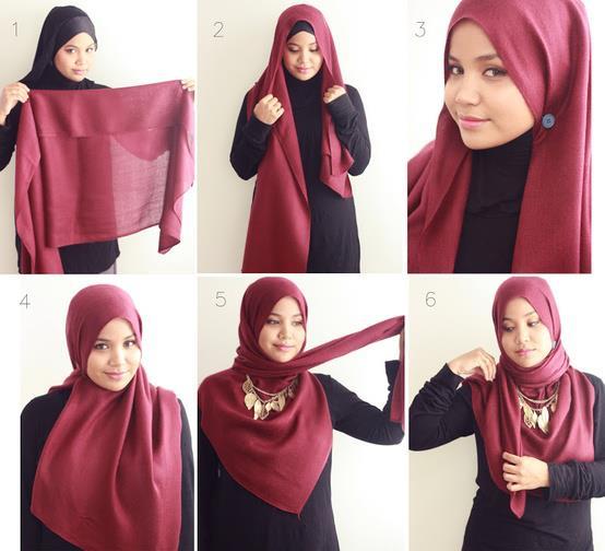 بالصور طرق لبس الحجاب 20160630 325