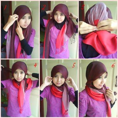 بالصور طرق لبس الحجاب 20160630 326