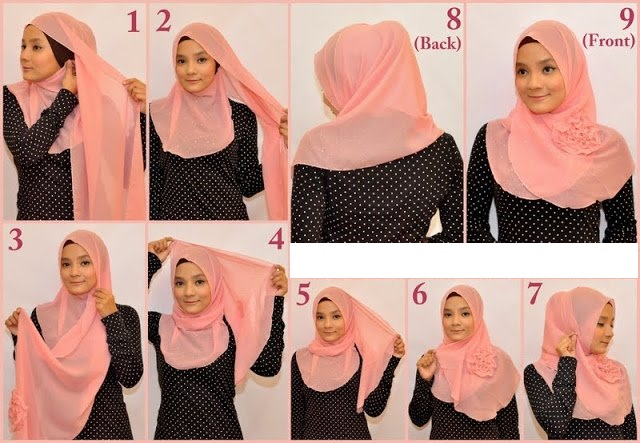 بالصور طرق لبس الحجاب 20160630 327