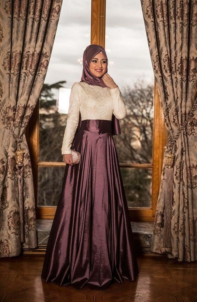 بالصور فساتين تركية رقيقة 2019 فستان محجبات روعة 2019 20160630 580