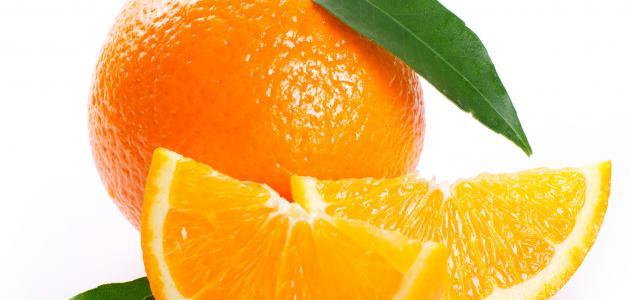 فوائد اكل البرتقال