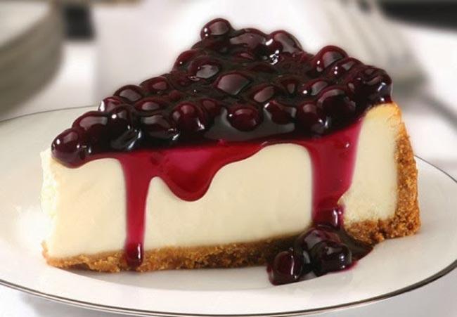 بالصور طرق تزيين التشيز كيك Cheesecake