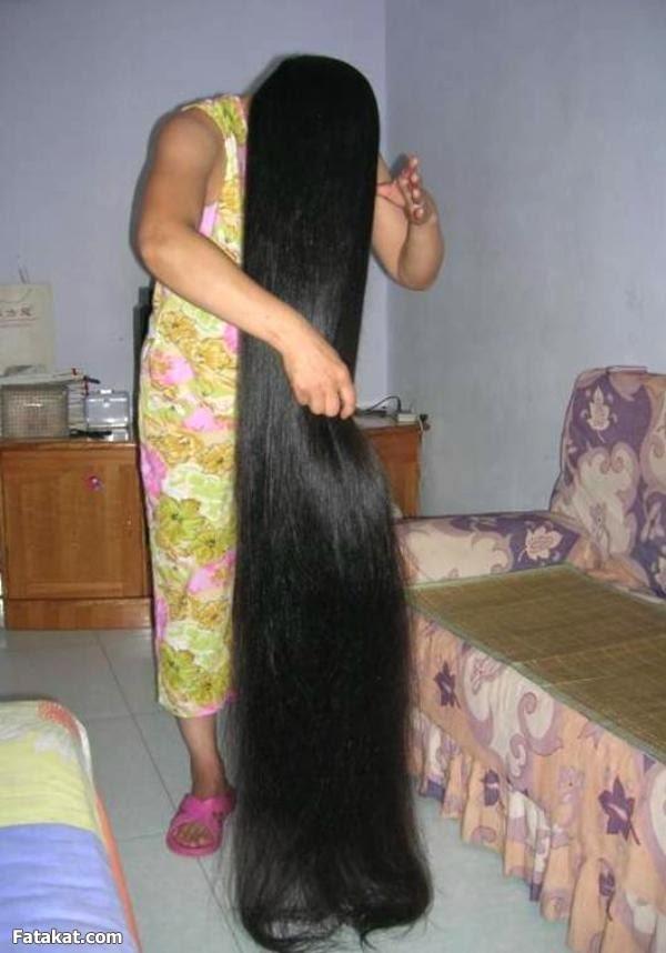 صوره طريقة تطويل الشعر بسرعة