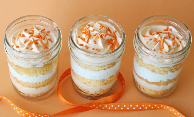 بالصور طريقة حلى كاسات جديد orange cups