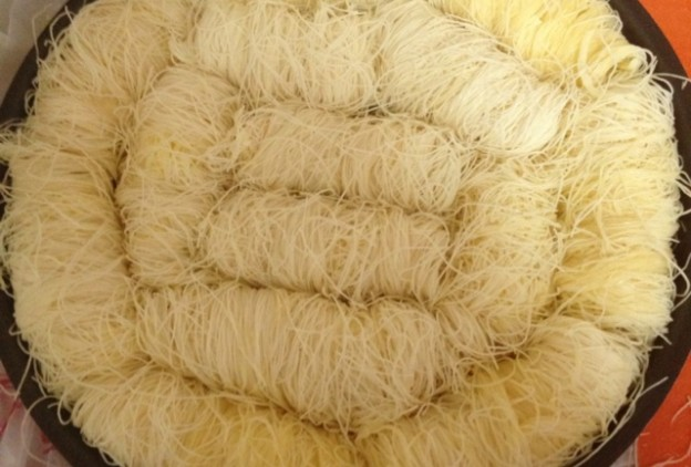 صوره طريقة عجينة الكنافة