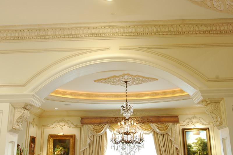 صوره اسقف وحوائط دكورات جبسية لشقق