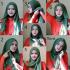بالصور طرق لبس الحجاب طريقة لف الحجاب7 70x70