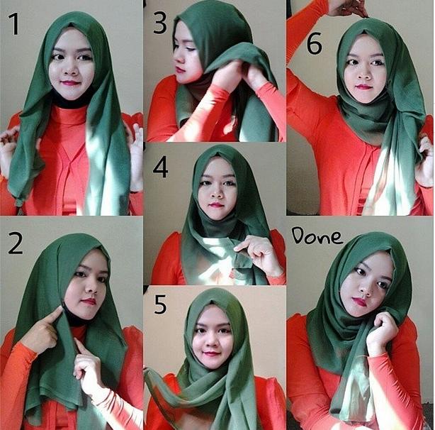 صور طرق لبس الحجاب