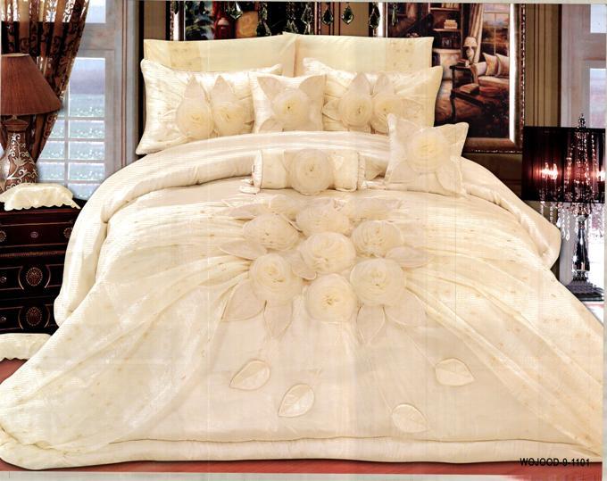 صورة احلي مفارش سرير للعرايس