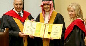 صوره ماهي الدكتوراه الفخرية والحاصلون عليها