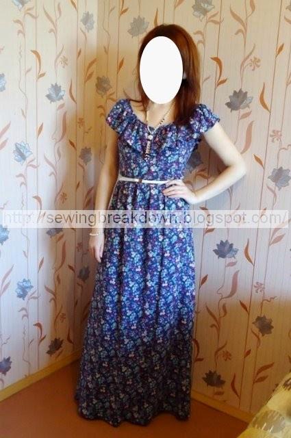 صور تفصيل فستان صيفي بطريقة بسيطة وسهلة