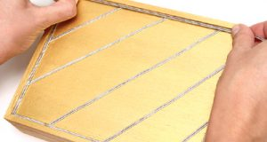 صوره طريقة تزيين صندوق خشبي بالصور