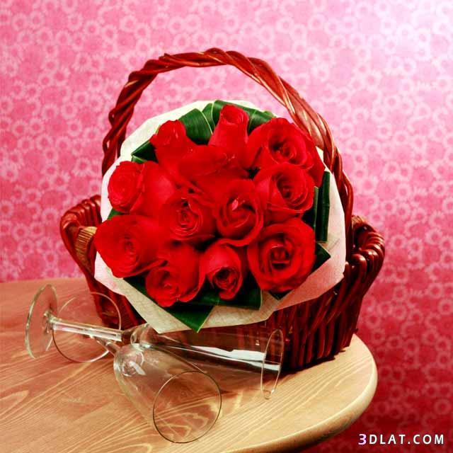 صوره اجمل باقات الورود الحمراء