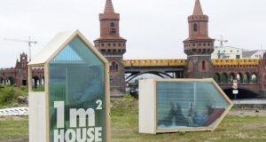 صوره اصغر منزل في العالم بحجم متر مكعب